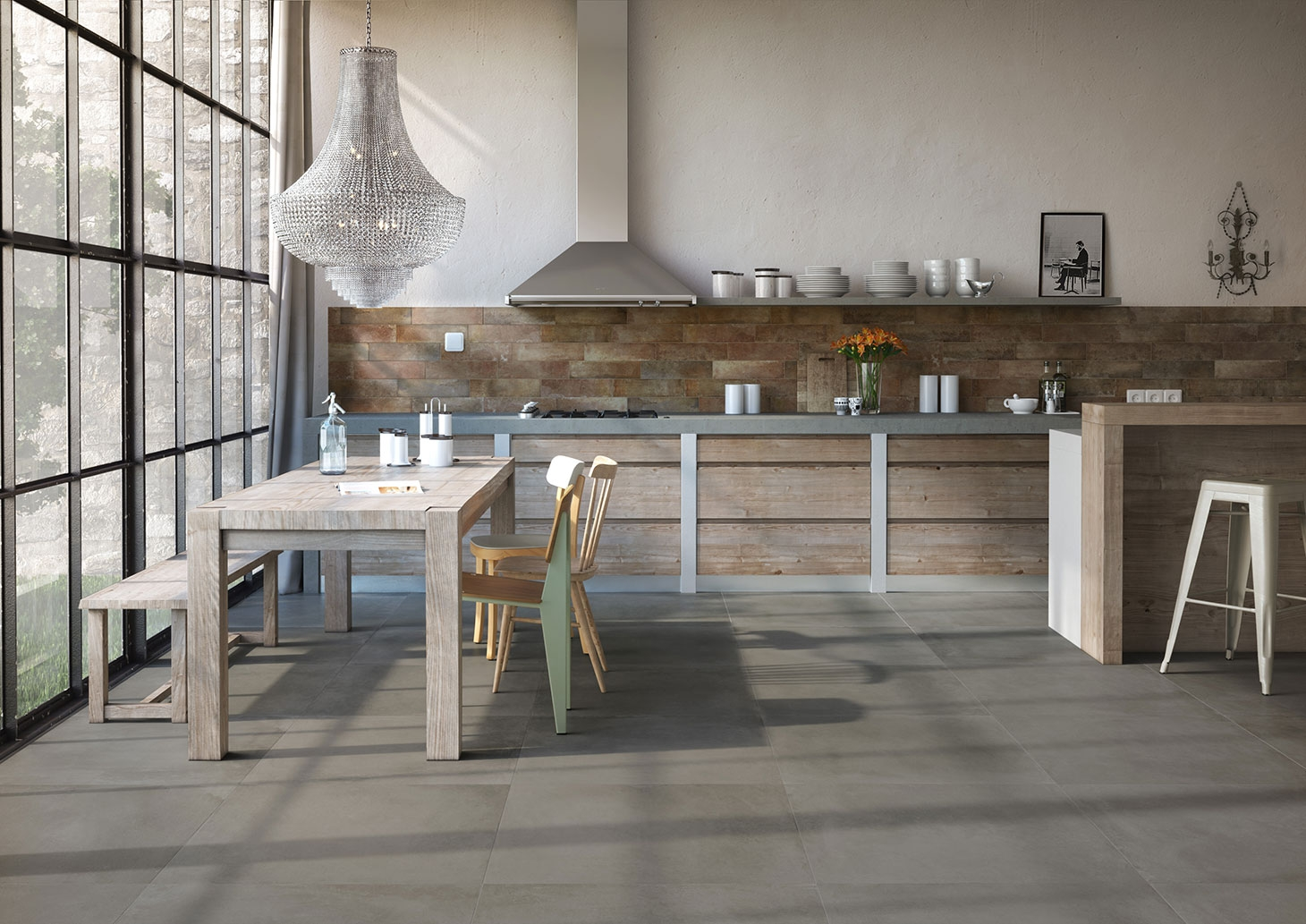 Haus by edilcuoghi ceramichess tile and stone toronto for Haus kitchens
