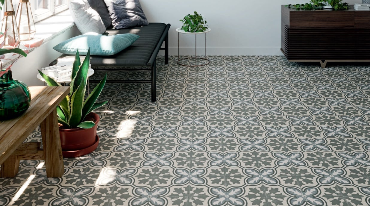 Stay on Trend with Stunning Encaustic Tiles